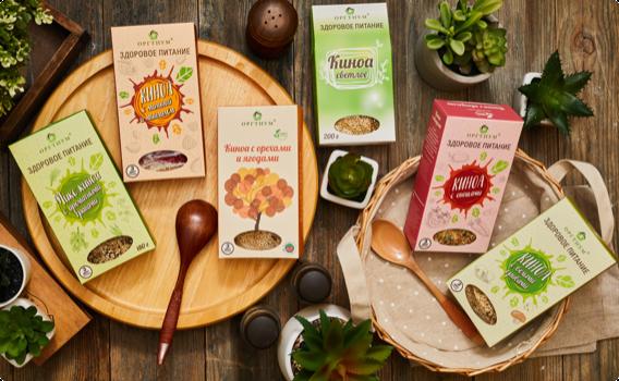 ОРГТИУМ предоставляет потребителям возможность грамотно составить свой рацион, обогатив его полезными, здоровыми и удобными в приготовлении продуктами